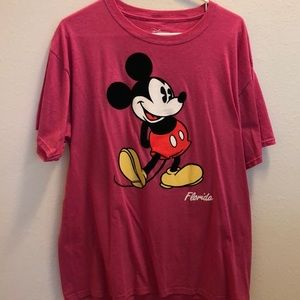 Mickey Mouse Pink T-shirt